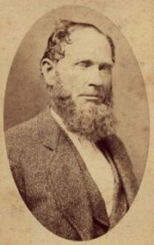 Benjamin Wooster Baker, father to Mary Jane (Mollie) Baker