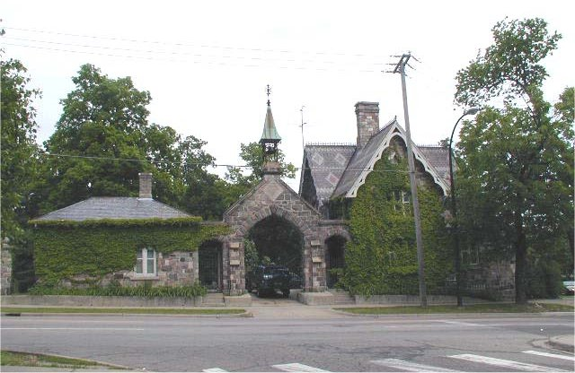Picture of the Foresthill Cemetery entrance