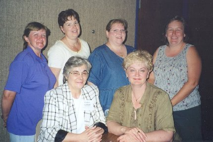 The 2000-2001 ECGS Board of Officers