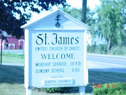 Picture of the St James sign